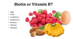 ویتامین بیوتین | B 7 | ب 7