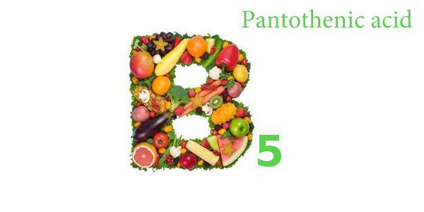 ویتامین B 5 یا پنتوتنیک اسید یا Pantothenic Acid