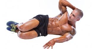 کرانچ عضلات مایل شکمی یا کرانچ پهلو