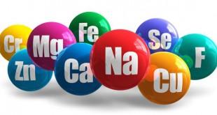 مواد معدنی یا مینرال مورد نیاز بدن Minerals