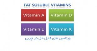 ویتامین های قابل حل در چربی یا Fat Soluble Vitamins