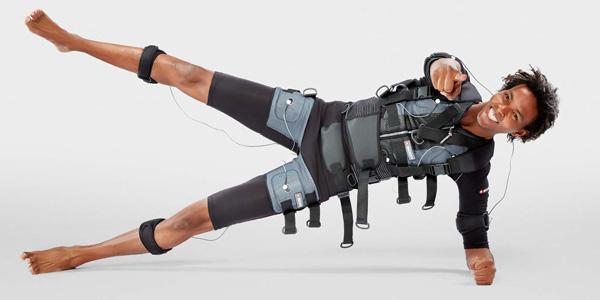تمرینات ورزشی با کمک جریان های الکتریکی EMS یا Electric Muscle Stimulation